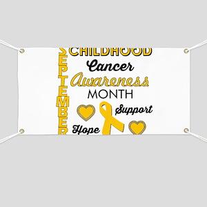 Childhood Cancer Awareness Banner