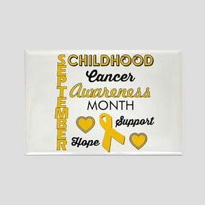 Childhood Cancer Awareness Magnets