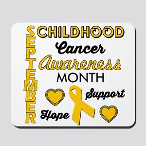 Childhood Cancer Awareness Mousepad