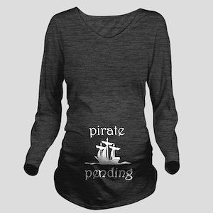 Pirate Pending Long Sleeve Maternity T-Shirt