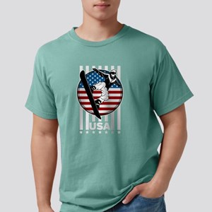 USA Snowboarder Team Mens Comfort Colors Shirt