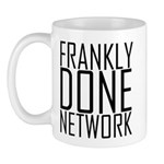 Frankly Done Network Mugs