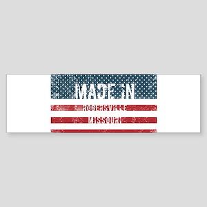 Made in Rogersville, Missouri Bumper Sticker