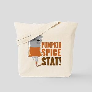 IV Pumpkin Spice Stat Tote Bag