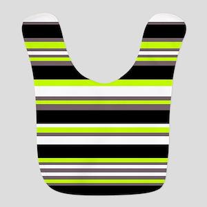 Horizontal Stripes Pattern: Cha Polyester Baby Bib