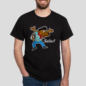 French Dog Dark T-Shirt