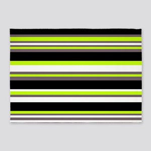 Horizontal Stripes Pattern: Chartre 5'x7'Area Rug