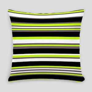 Horizontal Stripes Pattern: Chartr Everyday Pillow