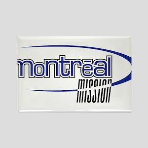 Montréal Mission Rectangle Magnet