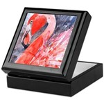 Flamingo Celebration Keepsake Box
