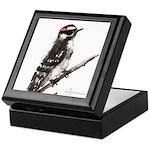 Downy Woodpecker Keepsake Box