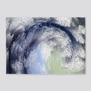 The Wave 5'x7'Area Rug