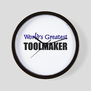 Worlds Greatest TOOLMAKER Wall Clock