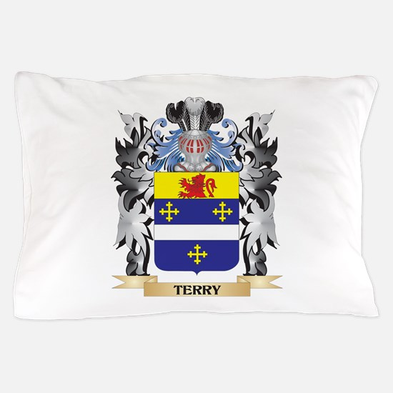 Terry- Coat of Arms - Family Crest Pillow Case