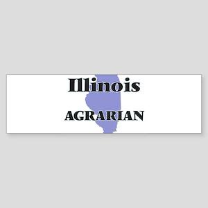 Illinois Agrarian Bumper Sticker