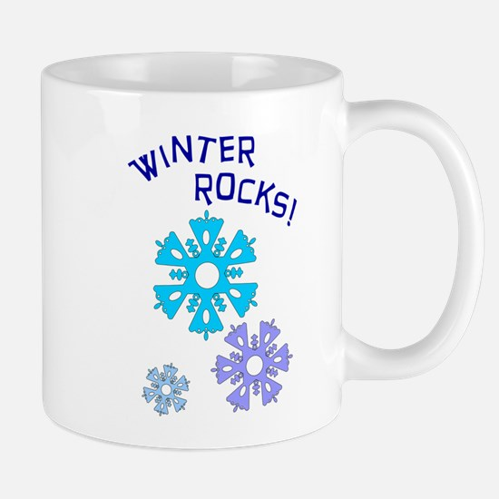 Winter Rocks Mug