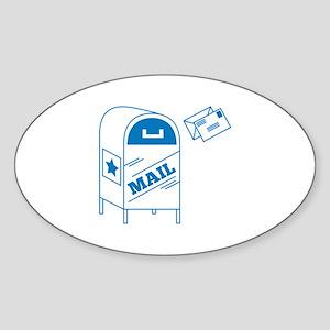 Postal Mail Sticker
