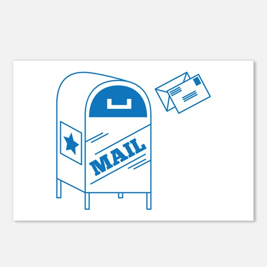 Postal Mail Postcards (Package of 8)