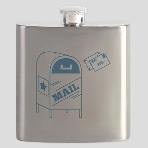 Postal Mail Flask