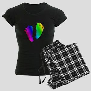 Rainbow Baby Feet Pajamas