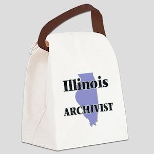 Illinois Archivist Canvas Lunch Bag