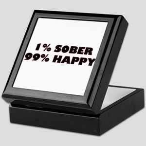 1% Sober Keepsake Box