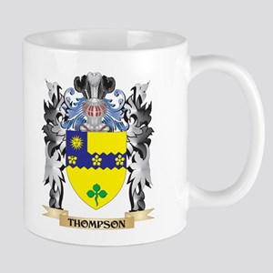 Thompson- Coat of Arms - Family Crest Mugs