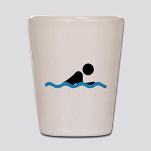 breaststroke Shot Glass
