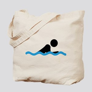 breaststroke Tote Bag