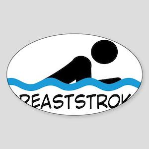 breaststroke Sticker