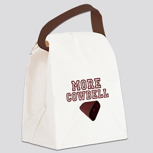 MORE COWBELL Canvas Lunch Bag