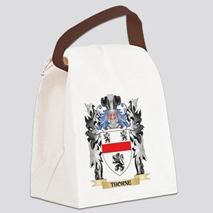 Thorne Coat of Arms - Family Cres Canvas Lunch Bag