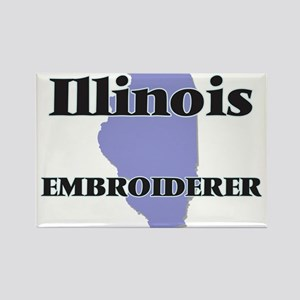 Illinois Embroiderer Magnets