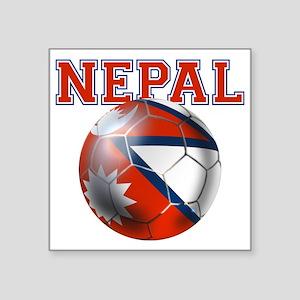 Nepal Football Sticker