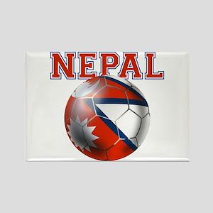 Nepal Football Magnets