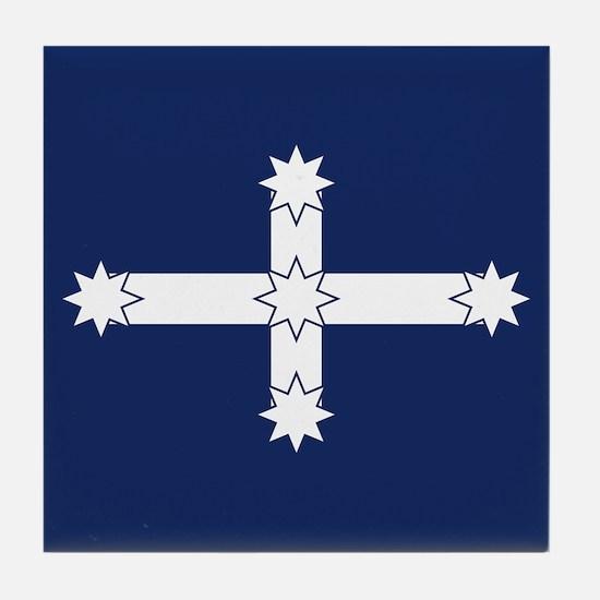 Eureka Flag Tile Coaster