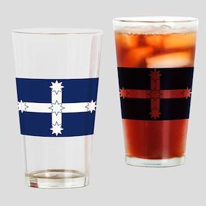 Eureka Flag Drinking Glass
