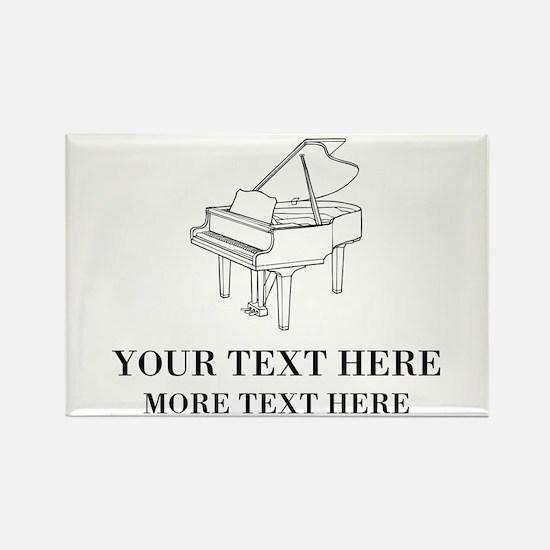 Custom piano Magnets
