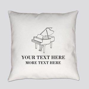Custom piano Everyday Pillow