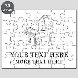 Custom piano Puzzle