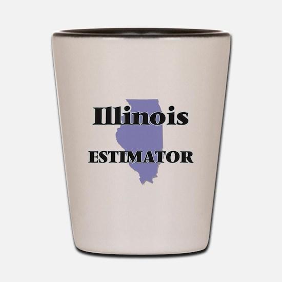 Illinois Estimator Shot Glass