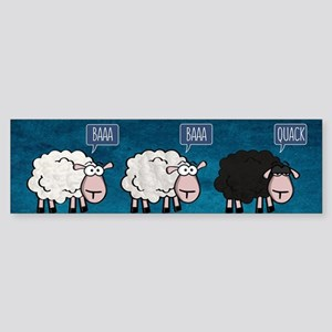 Bored Sheep Bumper Sticker