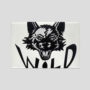 Saskatoon Wild Rectangle Magnet