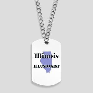 Illinois Illusionist Dog Tags