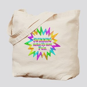 Swimming Makes Life More Fun Tote Bag