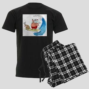 SaNtA aNd RuDoLf Pajamas