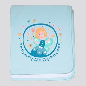 Fairy Godmother Fairy Tale Character baby blanket
