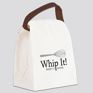 Whip It Canvas Lunch Bag