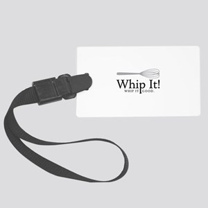 Whip It Luggage Tag
