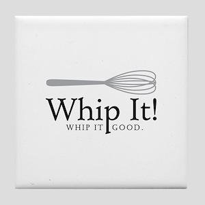 Whip It Tile Coaster